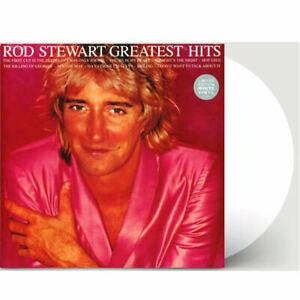 Rod Stewart Greatest Hits Vinyl New White Record Limited