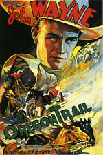 The Oregon Trail Vintage John Wayne Movie Poster