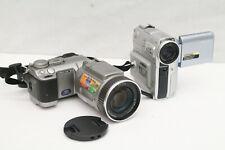 Sony DCR-PC105 Super Steady Shot Zeiss Sonnar & Sony DSC-F707 Digital Still Came