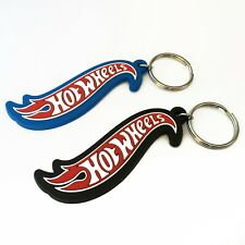 Hot Wheels Limited Keyring / Keychain T Hunt New Blue & Black - 2 pcs