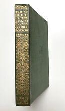 THE BIBLE IN SPAIN by George Borrow (Hardback) J. M. Dent, Everyman's Library