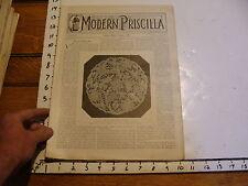 The Modern Priscilla : lynn Mass 1900 jan : vol XIII # 11 Venetian Point Lace