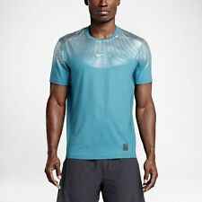 NWT Nike Pro Hypercool Max Fitted Shirt Sz L 100% Auth. (744281 418) RETAIL $80
