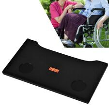 Detachable Wheelchair Tray Dining Table Cup Holder Durable Wheelchair Table Lap