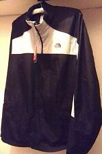 The North Face Men ,Woven Track Jacket  Black & Gray Size M