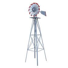Windmill Ornament 8 Ft Outdoor Backyard Garden Decor Vane Weather Resistant