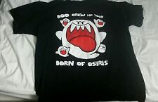 BORN OF OSIRIS BOO CREW VIP CONCERT TOUR T-SHIRT BLACK 2XL METAL DEATHCORE RARE