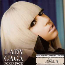 Lady GAGA	Poker face ( Glam As You ) CARD SLEEVE 3 tracks - France -	CD SINGLE