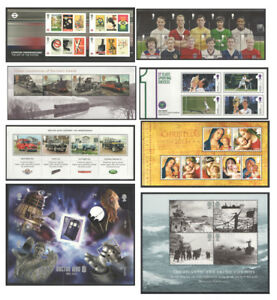 2013 Royal Mail Miniature Sheets MNH. Each sold separately.