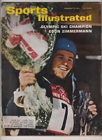 Sports Illustrated Olympic's Egon Zimmerman February 10, 1964 021420nonr