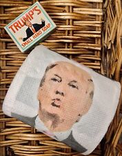 More details for trump novelty bundle, trump's small hand soap, trump's roll, funny, collectables