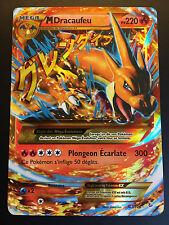 Carte Pokemon M DRACAUFEU 107/106 Ultra Rare Mega EX Secrète XY2 Française NEUF