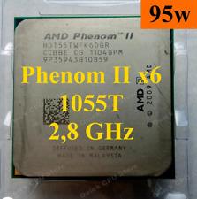 AMD Phenom II X6 1055T 2.8GHz Socket AM3 HDT55TWFK6DGR 95W + FREE Thermal Paste