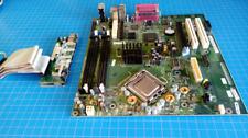 LGA 775 Socket T Motherboard w/ CPU & Front IO, Dell Optiplex GX620 CN0F8098
