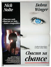Affiche 40x60cm CHACUN SA CHANCE (EVERYBODY WINS) Nick Nolte, Debra Winger NEUVE
