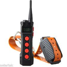 Aetertek Remote Shock Collar Hunter Stubborn Police Dog Training Auto Anti Bark