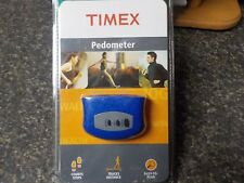 Timex Pedometer, Blue, Miles or Kilometers, T5E001 M8  Count Your Steps