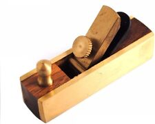 72mm Miniature Rosewood & Brass Plane. Dolls House, Woodworking, Modelling W3480