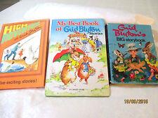 Enid Blyton bulk lot of 3 LARGE HC High Adventure BIG STORYBOOK Best RENE CLOKE