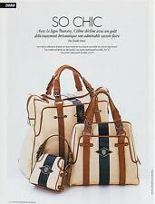 ▬► PUBLICITE ADVERTISING AD Sac Bag Céline collection modèle Barony