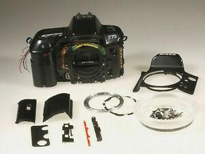 PRL) NIKON F70 F 70 FOTOCAMERA PEZZI RICAMBIO BODY CAMERA SPARE PARTS REFLEX SLR