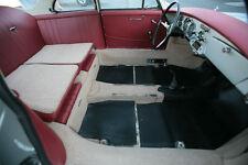 PORSCHE 356 B T6 & 356C COUPE IN GERMAN SQUARE WEAVE CARPET COLOR TAN 1962-65