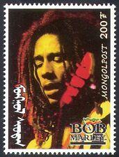 Mongolia 1998 BOB MARLEY/Reggae/Music/Musicians/Singers/Entertainment 1v  n17501