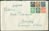 GERMANY TO GREAT BRITAIN Cover 1936? VF