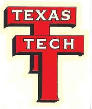 Texas Tech  University   Vintage-Looking  Travel Decal/Sticker