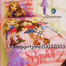 Bratz Stripes Single/Twin Bed Quilt Doona Duvet Cover Set