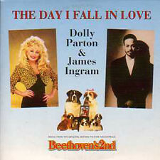 ★☆★ CD Single Dolly PARTON & James INGRAM Beethoven's2nd The day I fall in love