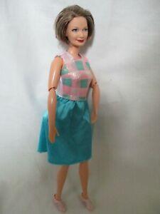 Poupée mannequin Barbie Grand-mère  MATTEL Happy Family vintage tbe