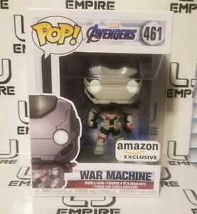 FUNKO POP Avengers ENDGAME: WAR MACHINE #461 Amazon Exclusive *IN-HAND*