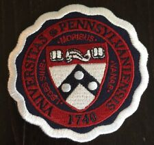 """UNIVERSITY OF PENNSYLVANIA embroidered iron on patch 3"""" X 3"""" Awesome!"""