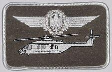 Écusson patch namemsschild nh90 militaire Aéronef dirigeants pilote... a3467