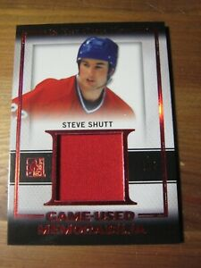 2016 17 Leaf In The Game Used #GU 29 Steve Shutt - Montreal Canadiens #d 1/5 ZH1
