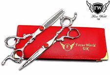 "FW®- Dragon Professional Hairdressing Scissors Salon Hair Cutting Shear Set 6.5"""