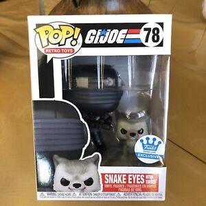 Snake Eyes With Timber-G.I Joe Funko Pop Exclusive SOLD OUT
