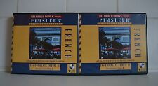 Pimsleur French 2A and 2B 18CDs Used and in good condition
