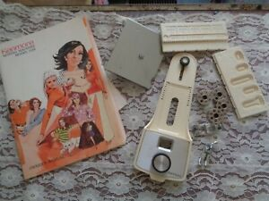 VINTAGE KENMORE OWNER'S MANUAL & SEWING MACHINE MACHINE ATTACHEMENTS-#1358
