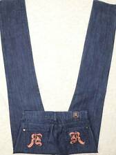 ROCK & REPUBLIC Cosbie Gold R JEANS Skinny Dark Wash Tag 25 Actual 28x36 LONG!!