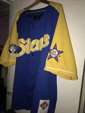Vtg 1922-43 NLBM St. Louis Stars Men's Throwback Negro League Baseball Jersey