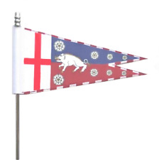 Richard III Personal Banner Schwalbenschwanz Ultimate Tisch Flagge