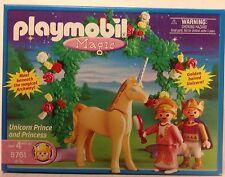 Playmobil 5761 Unicorn Prince & Princess  with wedding arbor NEw