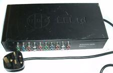 EELtd HDS HD DISTRIBUTION AMPLIFIER HDAD-1:6 UK PLUG