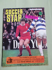 SOCCER STAR - UK FOOTBALL MAGAZINE- 25 JULY 1969 - EMLYN HUGHES - SHAY BRENNAN