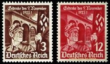EBS Germany 1935 12th Anniversary of 1923 Putsch Attempt Michel 598-599 MNH**