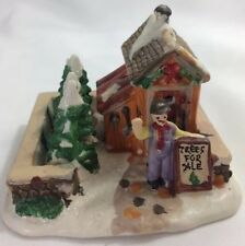 *Cobblestone Corner Trees For Sale 2004 Windham Heights Christmas Village House
