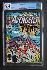 AVENGERS #247 ORIGIN ETERNALS Titan Earth 1984 She-Hulk Rambeau Uni-Mind CGC 9.4