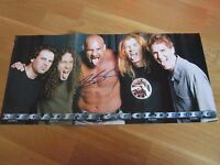 WWE WWF BILL GOLDBERG AUTOGRAPHED HAND SIGNED POSTER